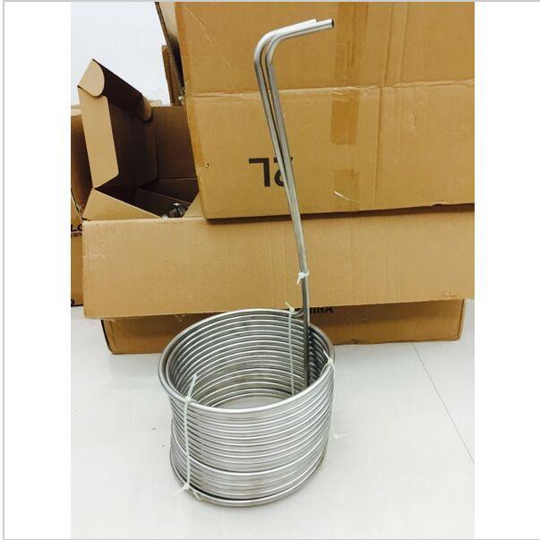 "Super Efficient 3/8"" x 50' food grade 304 stainless steel Wort Chiller beer cooling coil or malt juice cooler for homebrew(China (Mainland))"