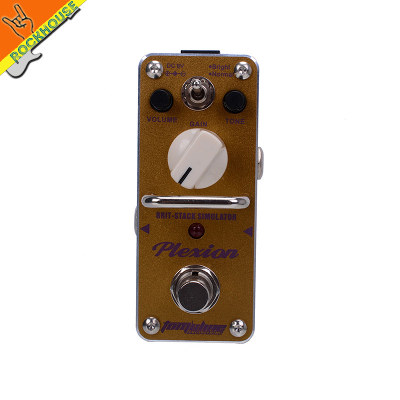AROMA APN-3 PLEXION British crunch distortion High gain Guitar Effect Pedal JCM800 AMP simulator True Bypass free shipping(China (Mainland))