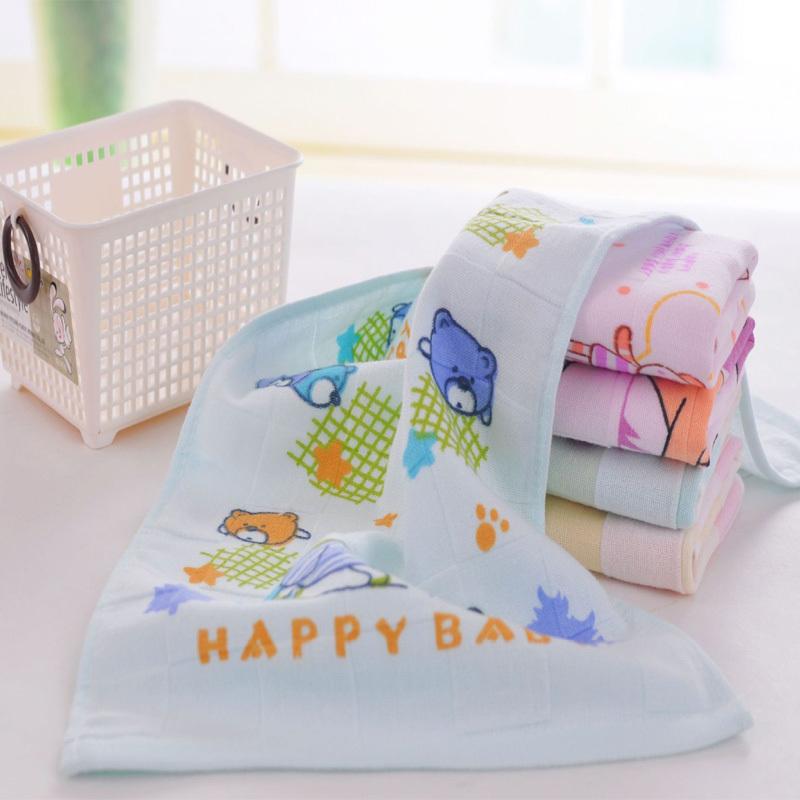 Kitchen Towel Toalha Toalhas De Banho Adulto 5pcs/lot Super Soft 100% Cotton Yarn Baby's Scarf Towel 25*50cm 30g free Shipping(China (Mainland))
