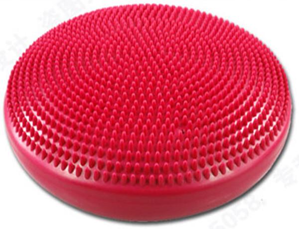 china factory Inflatable massage mat yoga ball balancing pad cushiest water cushion yoga ball pump(China (Mainland))