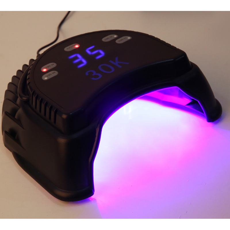 Professional LED Lamp Nail With Fan 60W LED UV Lamp for nails,Nail Dryer with Automatic Induction timer Nail tools(China (Mainland))