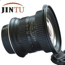 Buy JINTU 15mm F4 120 Degree Wide Angle Macro Shift Fisheye Lens Canon EF Mount DSLR Camera 5D III 7D II 7D 650D 550D 450D for $245.00 in AliExpress store