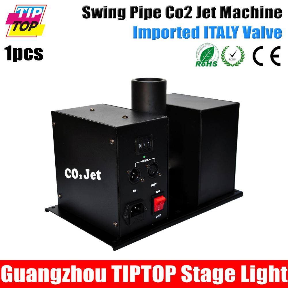 110V-240V Swing CO2 Jet multi angle ,DJ co2 jet ,Best quality,DMX512 Control ,New Co2 machine stage lights - GuangZhou TIPTOP Stage Lighting Co.,Limited store