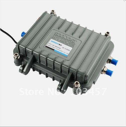 Free shipping, SB-7530MZ1, CATV outdoor amplifier, Sat Cable TV Signal Amplifier Splitter Booster CATV, 30DB(China (Mainland))