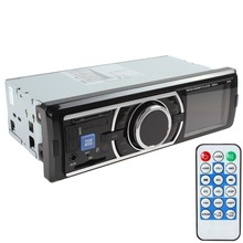 Hot 2015 New Car Audio Stereo In Dash Music MP3 Player Radio FM / USB / SD / AUX / MMC Input Receiver(China (Mainland))