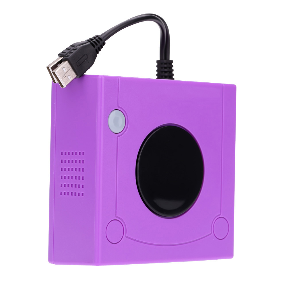 Purple Controller Adapter for Nintendo WiiU PC Gamecube Consoles Gaming Accessories(China (Mainland))