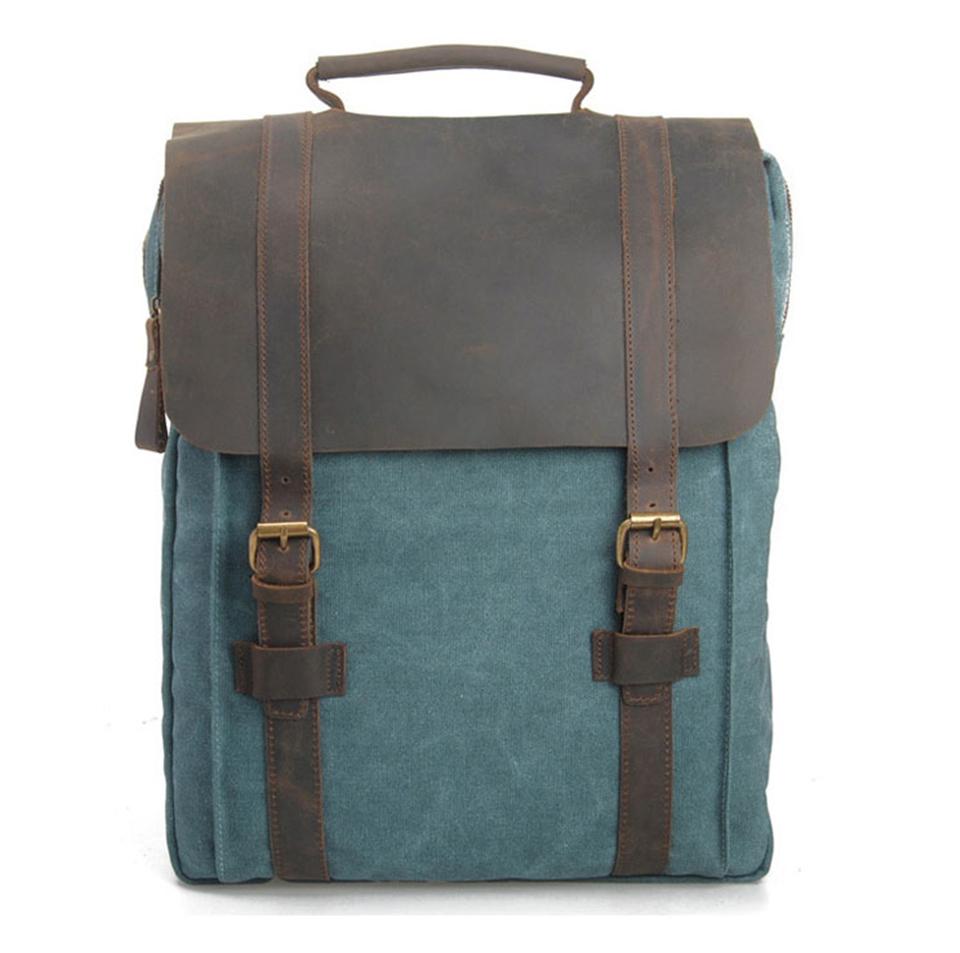 2016 Vintage Bags Men Backpack Women Rucksack Canvas Laptop Backpacks Casual School Bag Portfolios For teens<br><br>Aliexpress