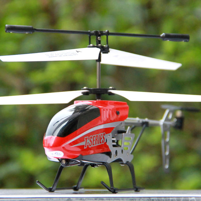 Remote control model spinning top instrument remote control helicopter toy battery