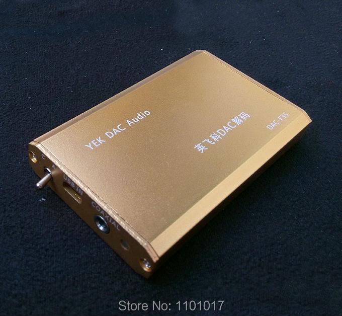 HIFI EXQUIS YEK PCM2706 DAC TDA1305 decoder amp Notebook PC USB sound card headphone amplifier