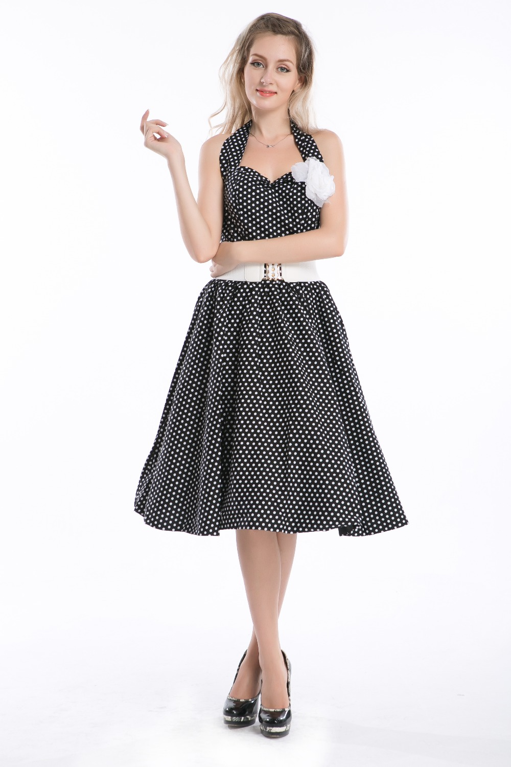 free shipping 2015 rockabilly dress vintage