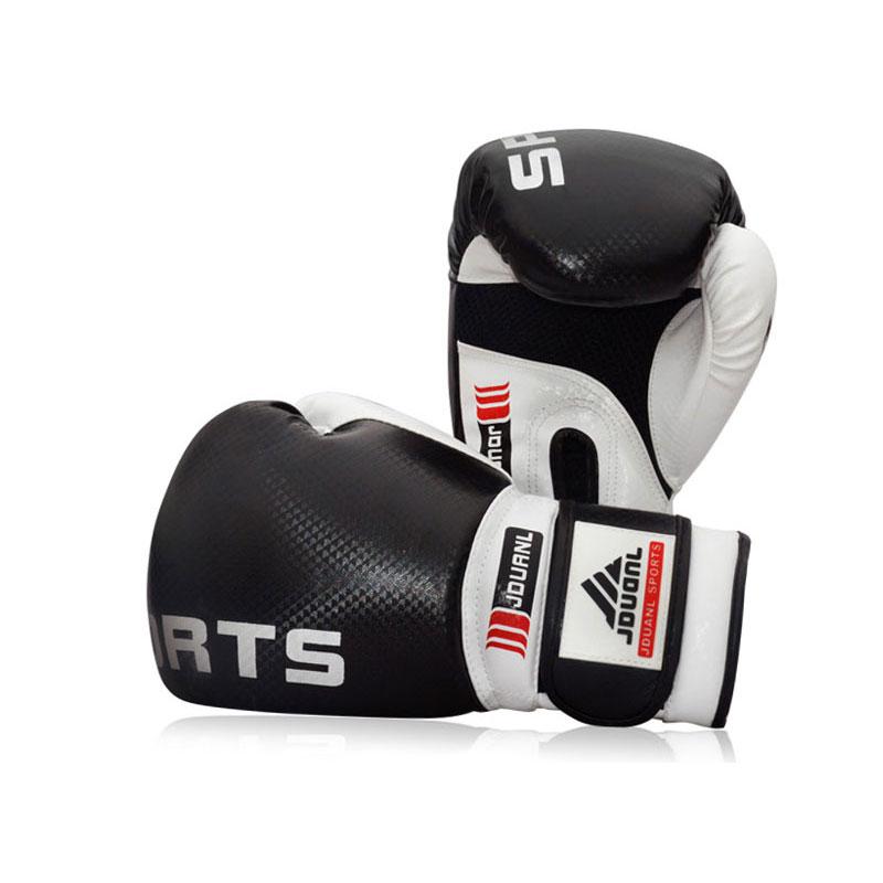 Black Red Blue 10oz High Quality Boxing Gloves Sanda karate Sandbag taekwondo Protector MMA Boxeo Muay Thai Mitts luva de box(China (Mainland))