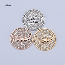 Newest 33mm My Coin Disc as Gifts for Friends in Jewelry Large Coin Disc for Genuine Milano Necklace Coin Keeper love(China (Mainland))