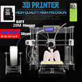 2016 New 3D printer Reprap prusa i3 DIY kits with 25M filament 8GB SD card Print