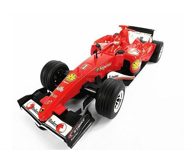 Hot sale!!ship Within 24 Hour New Amazing 1:18 F1   Mini Super Remote Controll Car / Radio  Racing Car 2 color