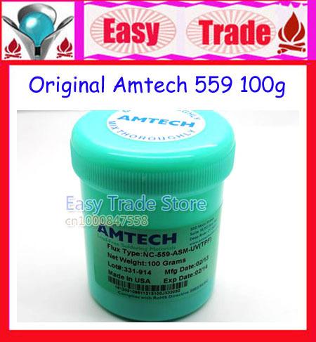 Free Shipping Original 100g Amtech NC-559-ASM-UV(TPF) No Clean Solder Paste Lead Free Solder Flux(China (Mainland))