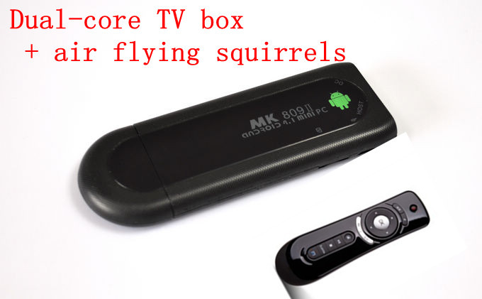 MK809II dual-core android 4.2 MINI PC bluetooth function TV - BOX 8 gb ram + AF100 air flying squirrels, Shenzhen corder xin technology co., LTD store