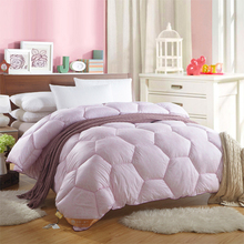Duvet Double warmth Quilt  for winter comfortable and warm Bed cover Polyester and cotton Quilt 180cm*220cm(China (Mainland))
