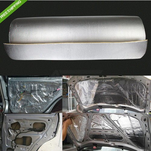1 рулон акустические демпферы тепло шумоизолирующее покрытие доказательство пэ изоляцией коврик 10 м