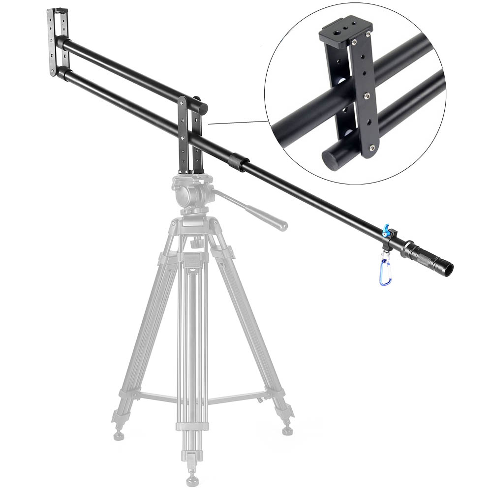 DHL Mini Jib Crane Portable Professional DSLR Video Camera Extension Arm Crane Jib for SLR DV Photo Studio Accessories With Bag(China (Mainland))