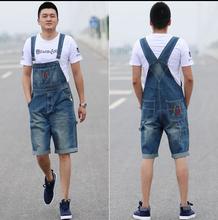New Arrival 2015 High Quality Men's Jeans Straps Denim Jumpsuit Mens Bib Overalls For Men Blue S M L XL XXL XXXL XXXXL(China (Mainland))