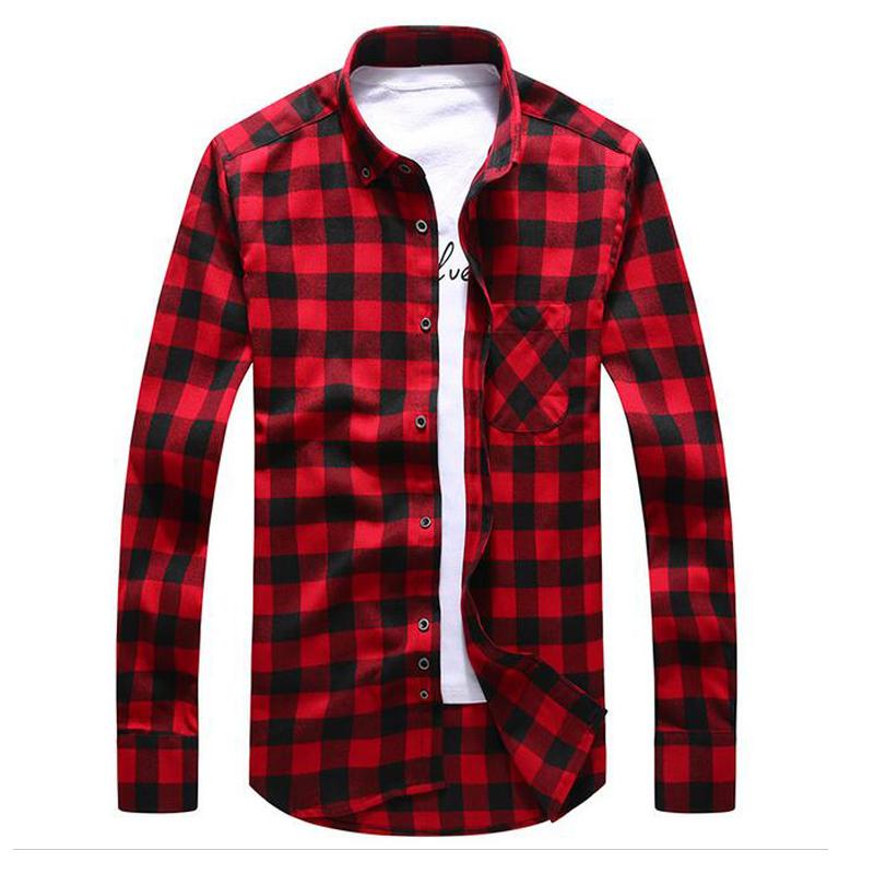 Купить Фланелевую Мужскую Рубашку