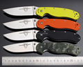 high end Ontario RAT Folding Knife AUS 8 Blade Steel With G10 Handle Utility Tactical Camping