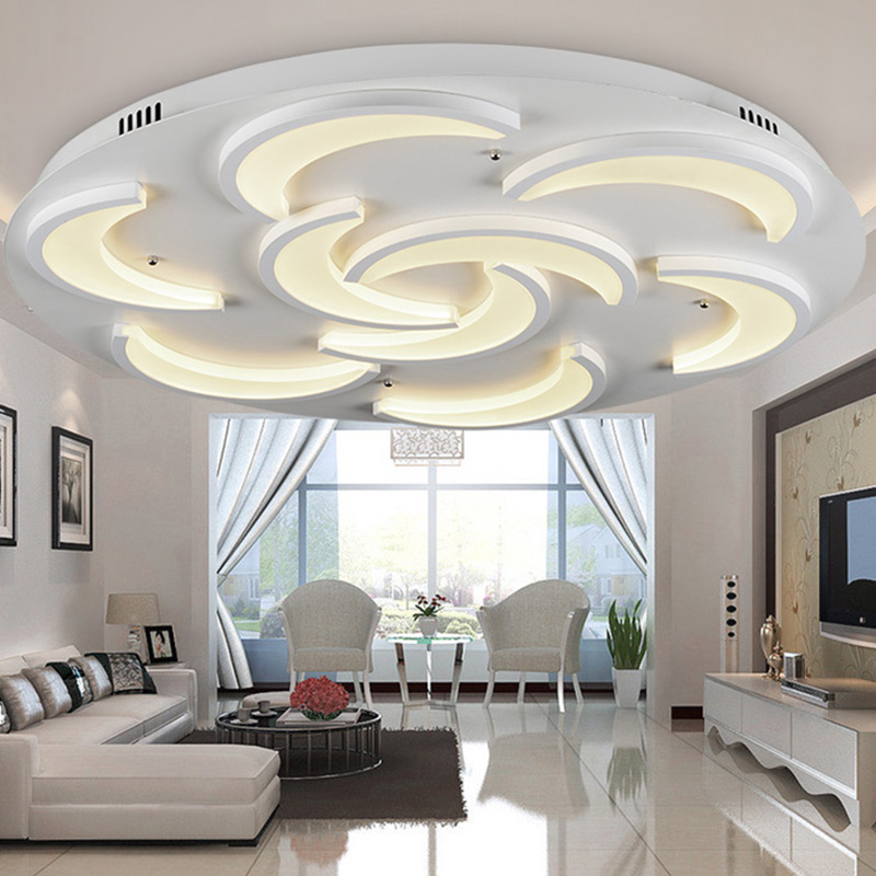 Details about bright 36w led ceiling down light flush for Living room ceiling light fixture