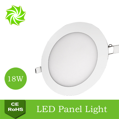 Ultra Thin Bright White / Warm AC85-265V 18W Round Sitting Room Restaurant Kitchen LED Panel Light - ShenZhen YOUYILI Lighting Co., Ltd. store