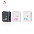 Mini Personal GPS Tracker GSM Locator SOS Alarm RF V16 500mA LBS Two way Talk Voice