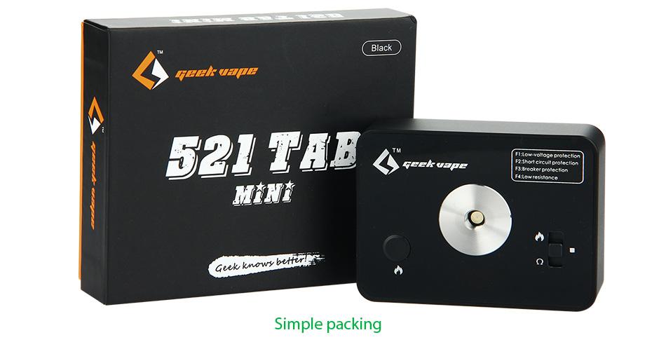 ถูก มาใหม่GeekVape 521 Tabมินิขดลวดเครื่องมือต้นแบบอิเล็กทรอนิกส์บุหรี่Geekvape DIYดิจิตอลเครื่องมือขดลวดต้นแบบสำหรับecigขดลวดDIY
