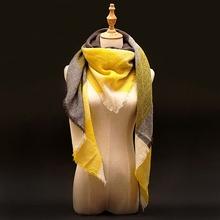 Buy 2017 Za Winter Cashmere Scarf Women Blanket Scarf Luxury Brand Designer Scarves Women Tartan Plaid Scarf Pashmina Wrap Shawl for $5.48 in AliExpress store