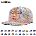 Hot New Fashion Baseball Caps Snapback For Women Men Hat Abstract Flowers Galaxy Cap Casual gorras