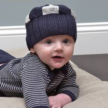 2012 newborn autumn and winter baby child 100% cotton baby infant outdoor cap knitted hat 1176