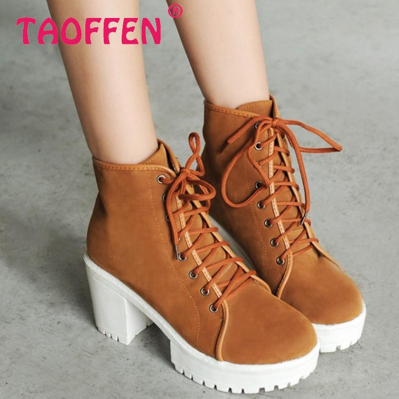 women high heel half short ankle boots motorcycle autumn winter botas fashion cross strap footwear boot shoes P19772 size 34-39