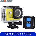 SOOCOO C30R 4K Wifi Action Camera 1080P Full HD Gyro Wireless Remote Control Waterproof Bicycle Helmet