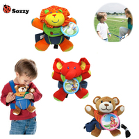 Baby Safety Harness Strap Bat Bag kids Anti-lost Walking Toddler Kids Candy Bag Baby Toys High Quality