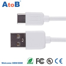 Usb Type C 3.1 Type-C Cable Usb-C Fast Speed Charging Charger Cabel Xiaomi Mi5 Mi 5/Oneplus 3 One Plus 3/Elephone P9000 - AtoB Official Store store