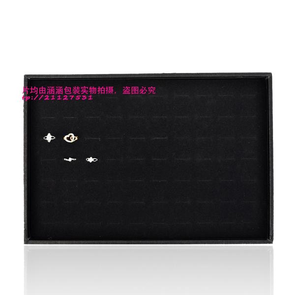 70 Slots Ring Box Organizer Display Storage Case Jewelry Showcase Black Hot