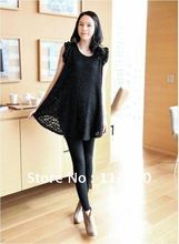 2015 Limited Skirt Loose Maternity Dress Lace Tops Korea Style Plus Size Pregnant Summer, Clothing Mini Dresses, free Shipping(China (Mainland))