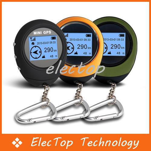 Mini Useful Handheld Portable GPS Navigation For Outdoor Sport Travel Reciever 10pcs/lot Wholesale(China (Mainland))