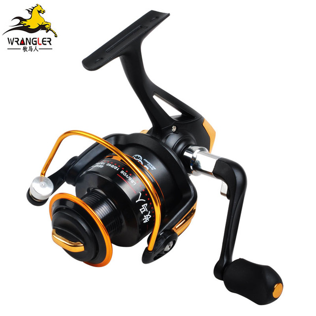 metal fishing reel fishing round long round wheel quality fish wheel Round fish