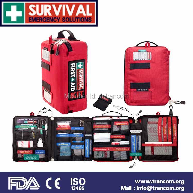 Гаджет  SURVIVAL Medical First Aid Kit (with FDA/CE/TGA) SES01---HOME/WORKPLACE KIT None Безопасность и защита