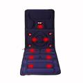 8 Mode Full Body Massager Far Infrared Massage Relieve back fatigue Mattress Cushion Vibration Head Body