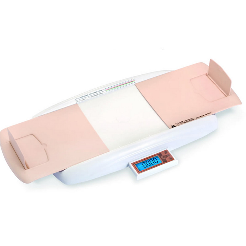 Infant Baby New Portable Height and Weight Scale Measurements Children Precise Amphibious Digital Anti Shake LCD Scales for Kids