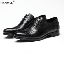 Cowhide sole Breathable mens business shoes black/Red wine mens dress shoes genuine leather wedding shoes formal office shoes(China (Mainland))