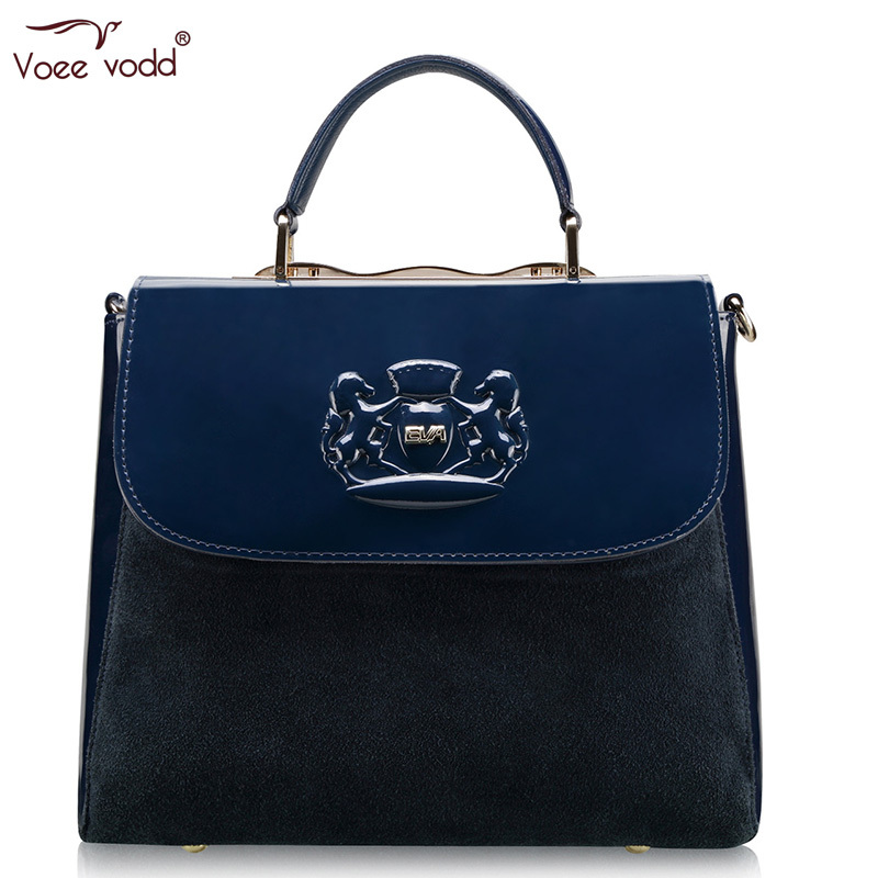 Hot 2015 Genuine Leather Femininas Briefcases VOEEVODD Formal Business Bag G2135 Free Shipping<br><br>Aliexpress