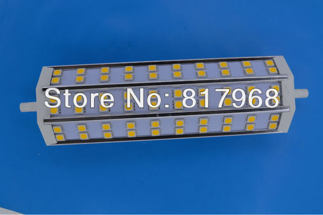 Free Shipping  Energy Saving Dimmable or Non-dimmable189mm R7S Led Lamp 12W 60pcs Led Bulb 85-265V