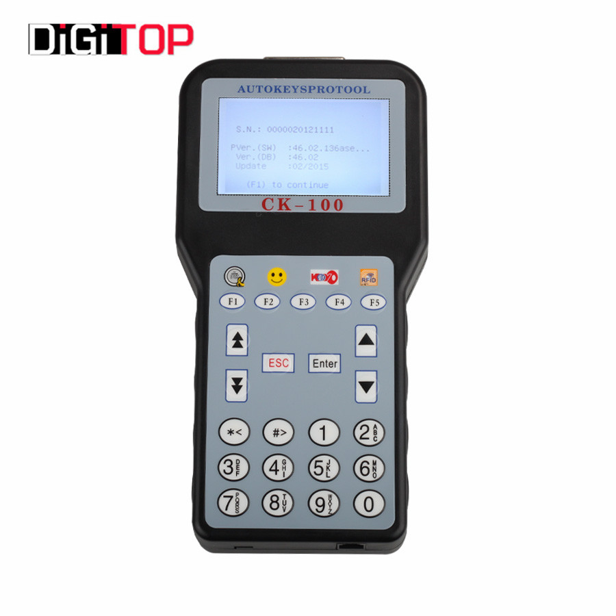 Newest V46.02 CK-100 CK100 Auto Key Programmer with 1024 Tokens CK100 Key Programmer CK 100 Programmer SBB Update Version(China (Mainland))