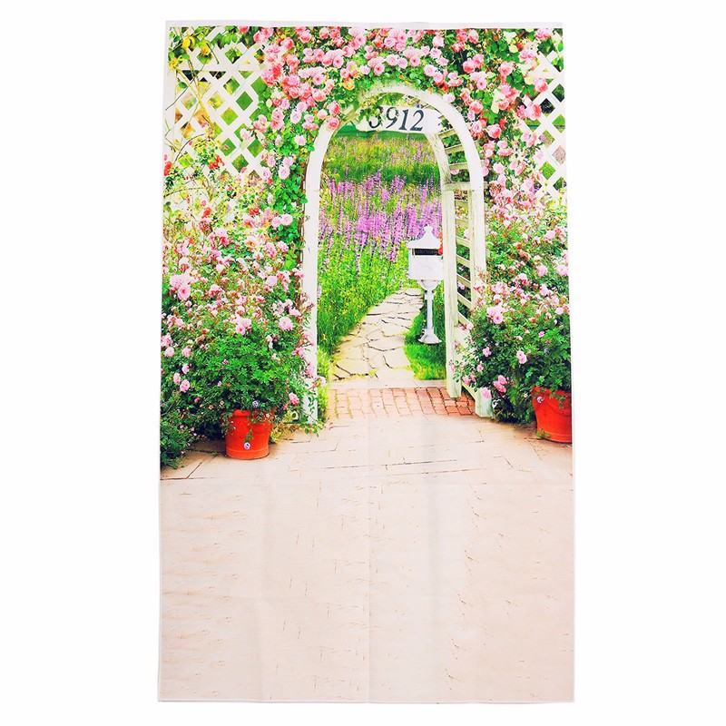 3x5ft Vinyl Photography Background Wedding Garden Photographic Backdrops For Studio Photo Props Non-woven fabric 90x 150cm(China (Mainland))