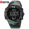OTS Brand LED Digital Mens Military Army Watch Men Sports Watches 5ATM Swim Climbing Fashion Outdoor
